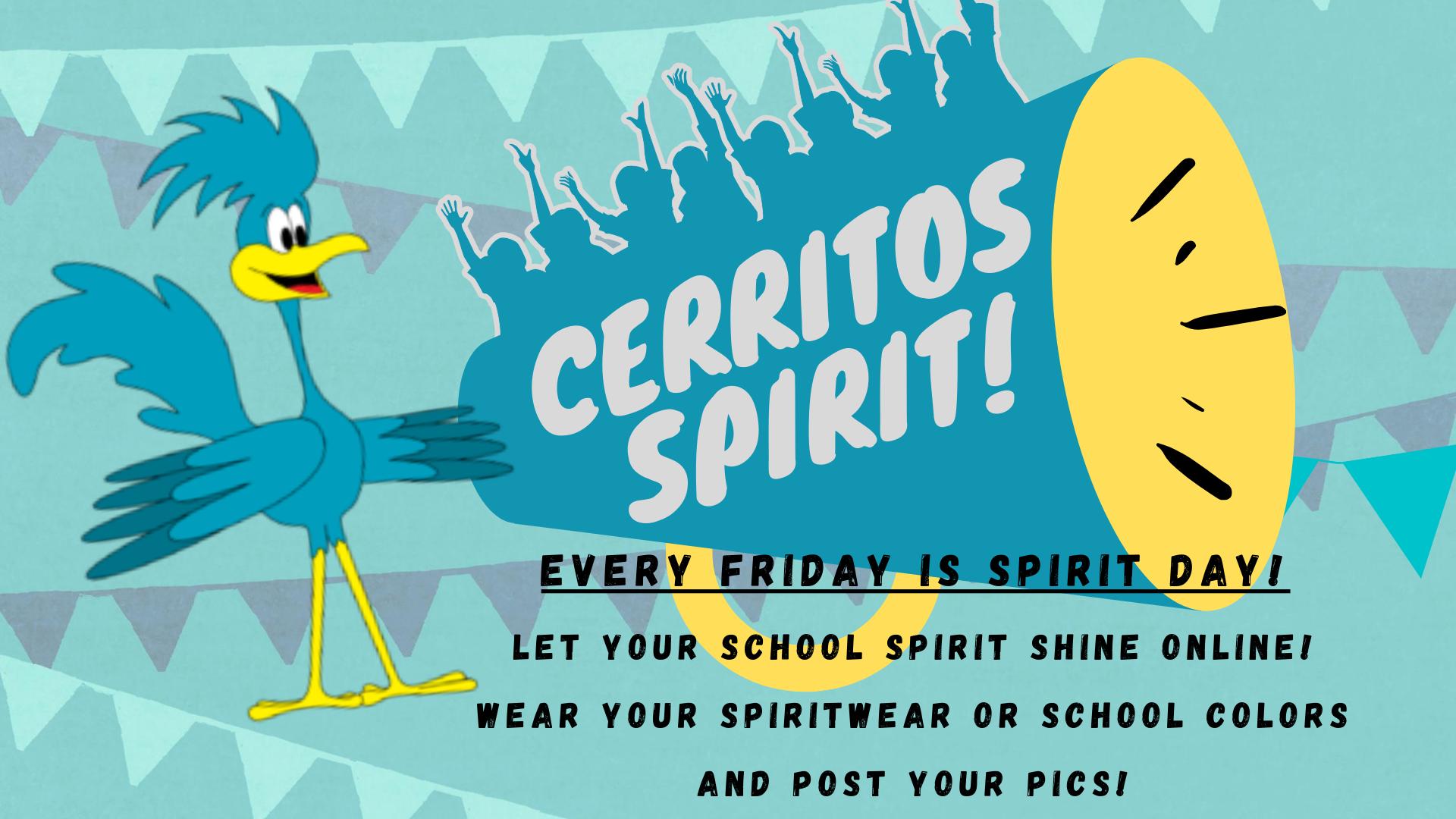 Cerritos Spirit Day!