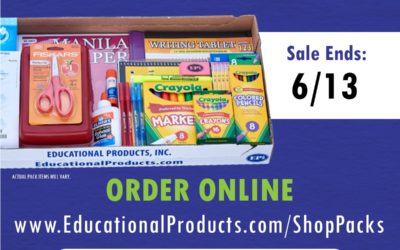 Order Your School Supply Pack Today!